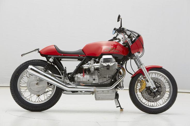 racing caf moto guzzi le mans iii caf racer by doc jensen. Black Bedroom Furniture Sets. Home Design Ideas