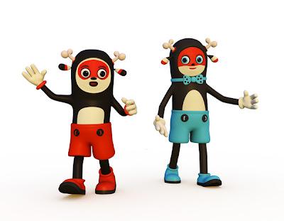 Cute 3D Characters by Teodoru Badiu Seen On www.coolpicturegallery.us