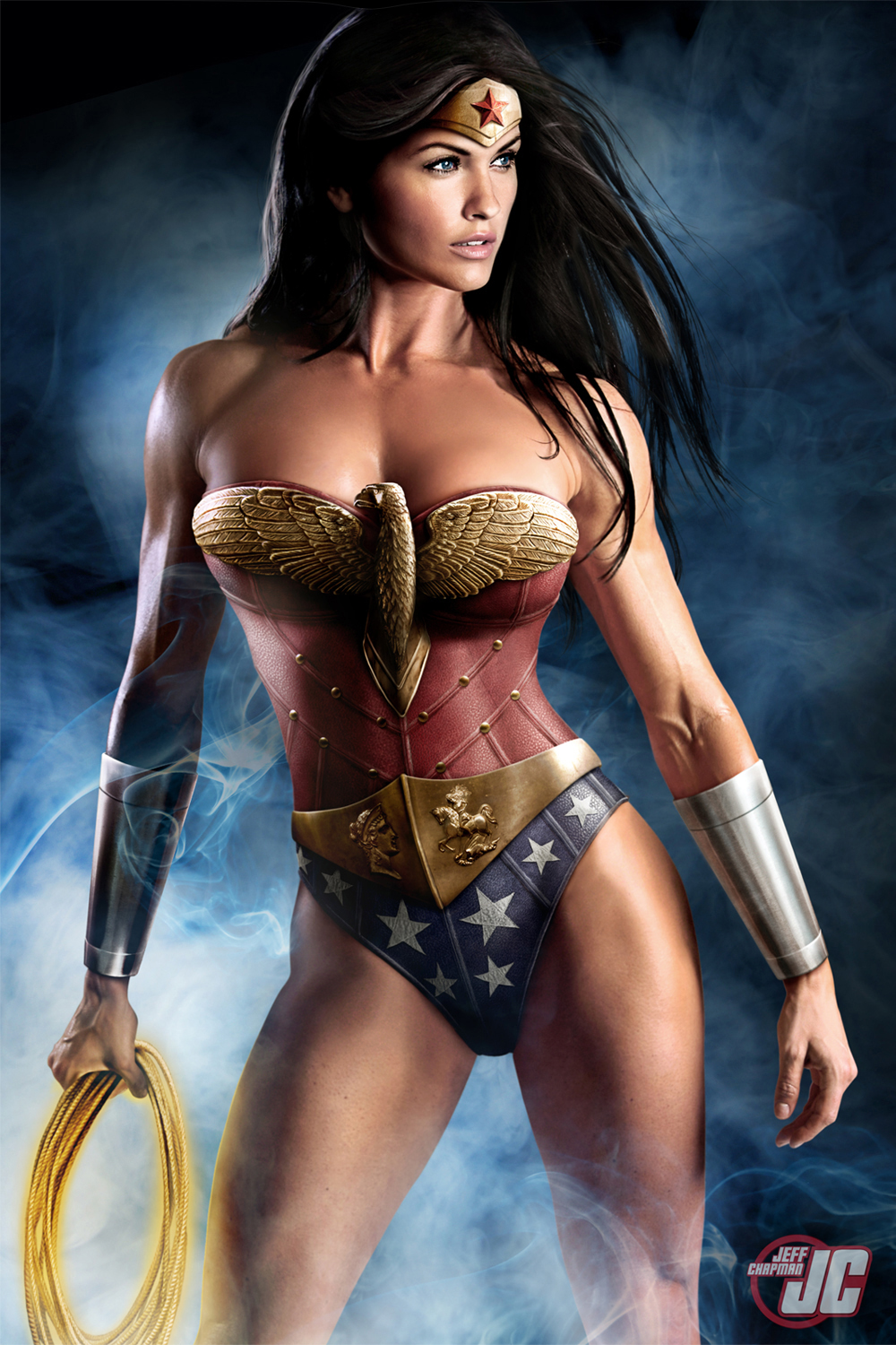 "Wonder Woman"" by Jeff Chapman aka Jeffach"