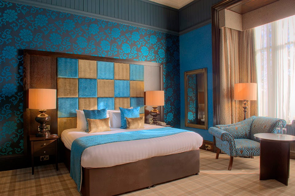 Luxury Blue room