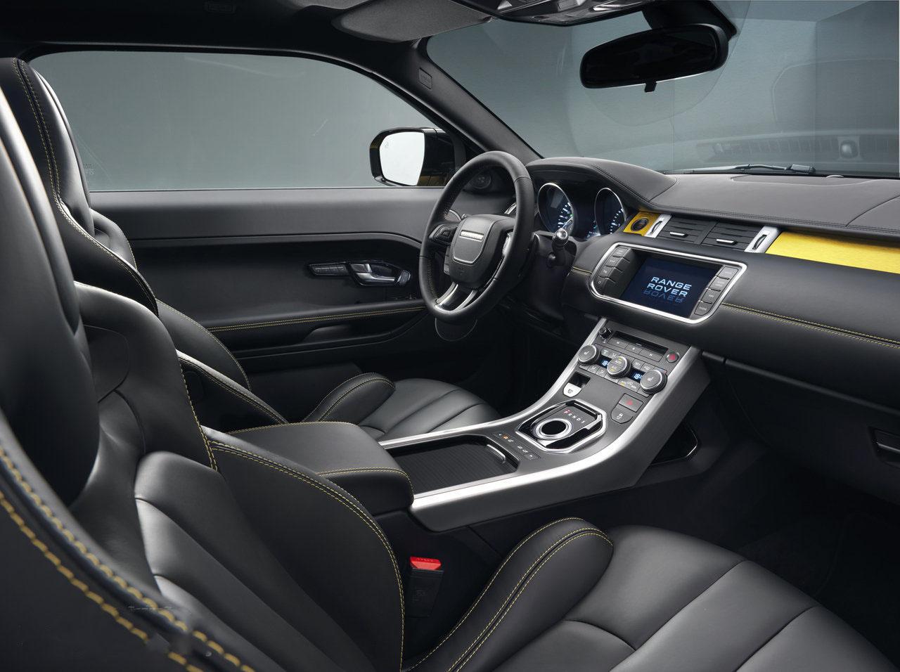 a car 2013 Range Rover Evoque Sicilian Yellow Edition