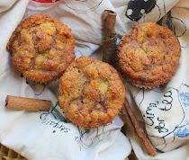 Dairy Free Cinnamon Swirl Muffins