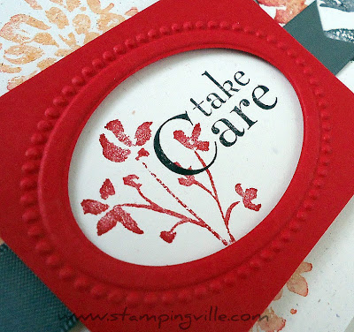 Oval Frame - Designer Frames Embossing Folder Set