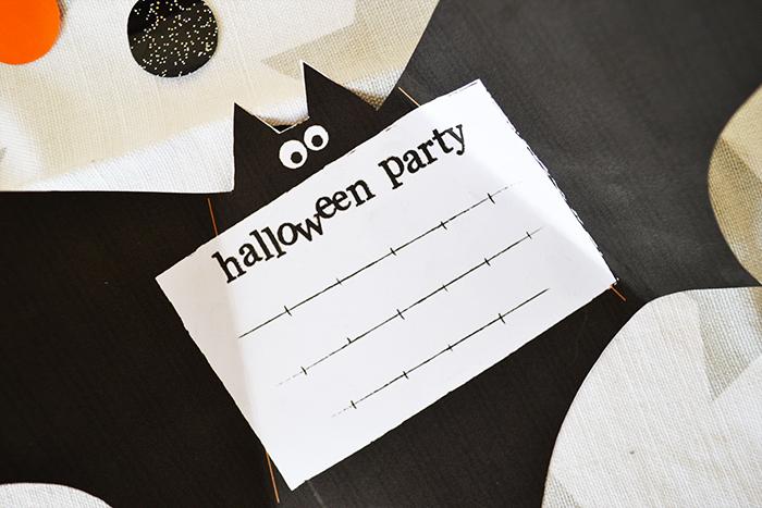Halloween biglietto di invito da stampare