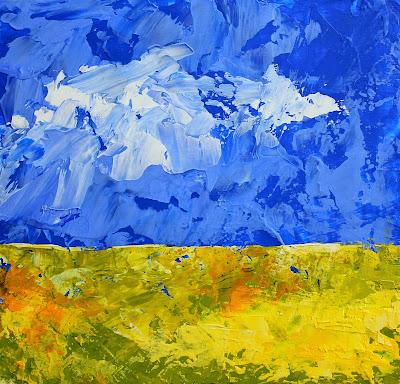 Dutch Holland landscape painting Eemnes Blaricum Laren Martin Hoogeboom art