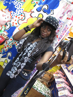 black gyaru, gyaru fashion, gyaru meet, chinatown, group shot, purikura, glee,