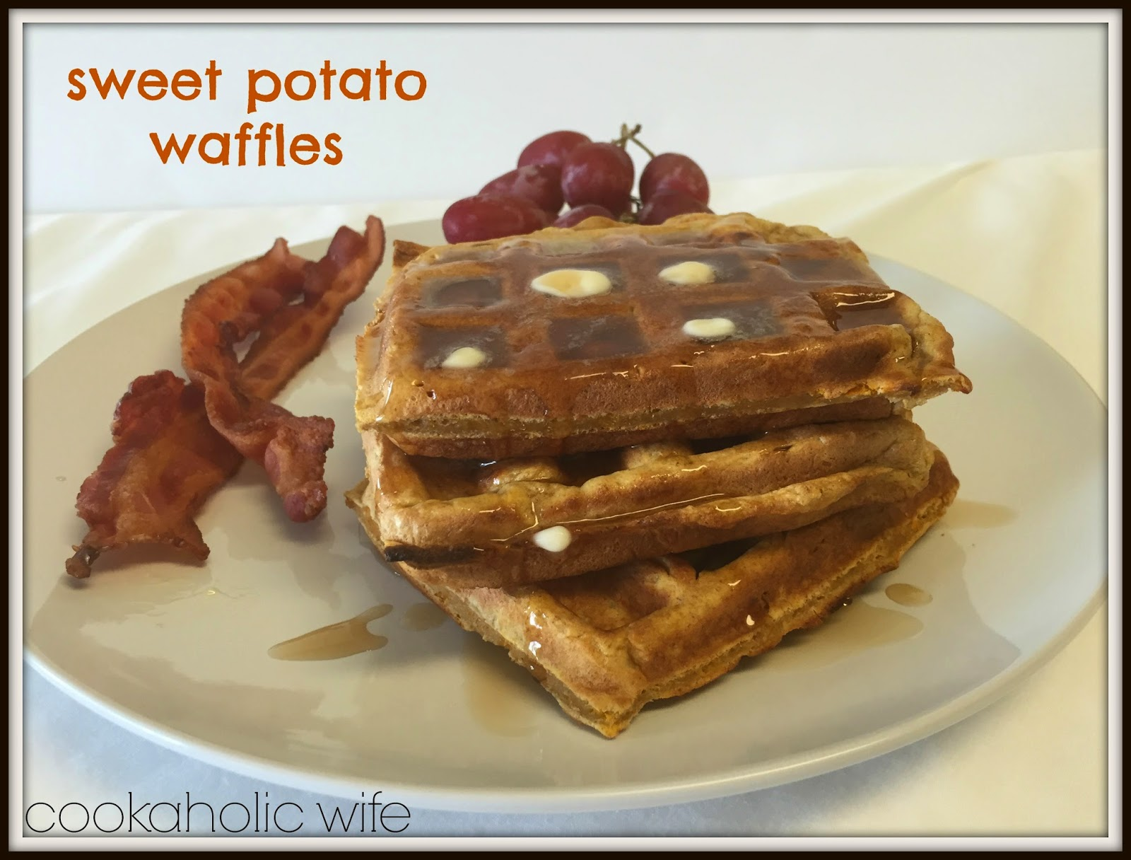 Sweet Potato Waffles Recipe — Dishmaps
