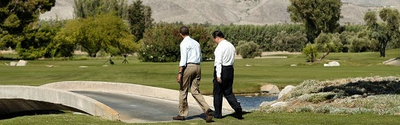Barack Obama & Xi Jinping Barack Obama at Rancho Mirage - Tigger & Pooh.
