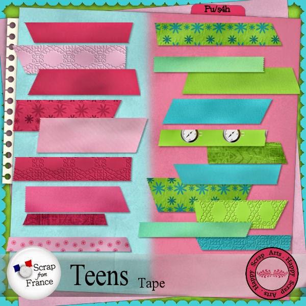 HSA Teens tape