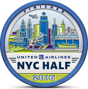 United Airlines NYC Half - March 20, 2016