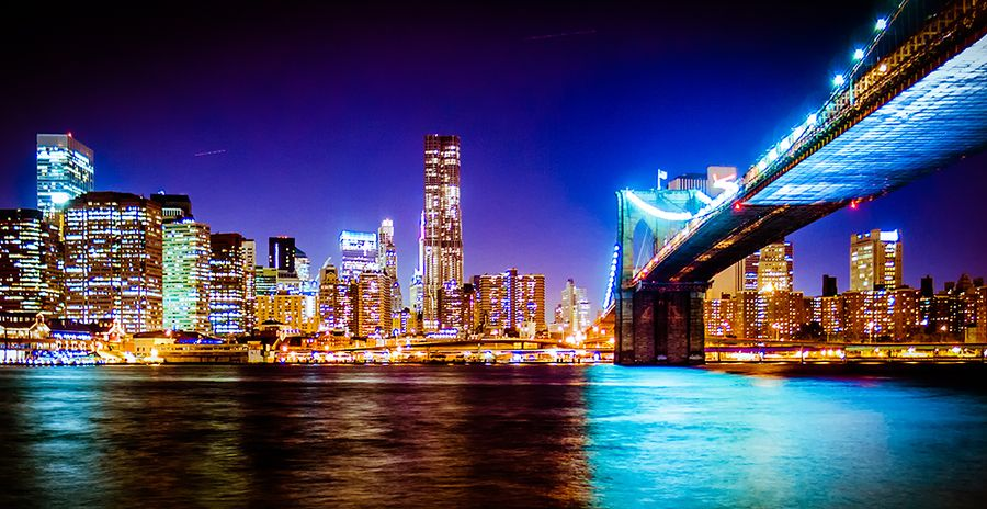 9. new york brooklyn bridge by Dennis Bannert
