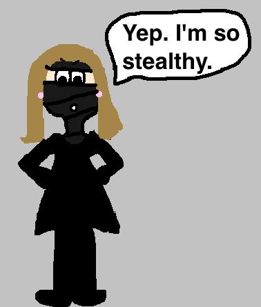 Mayor Gia: I'm a Sneaky Ninja Spy.