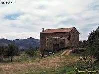 """Vista de la façana nord d'El Boix. Autor: Francesc """"Caminaire"""""""