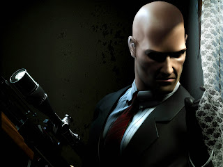 Hitman Agent 47 with Sniper HD Wallpaper