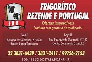 FRIGORÍFICO REZENDE E PORTUGAL