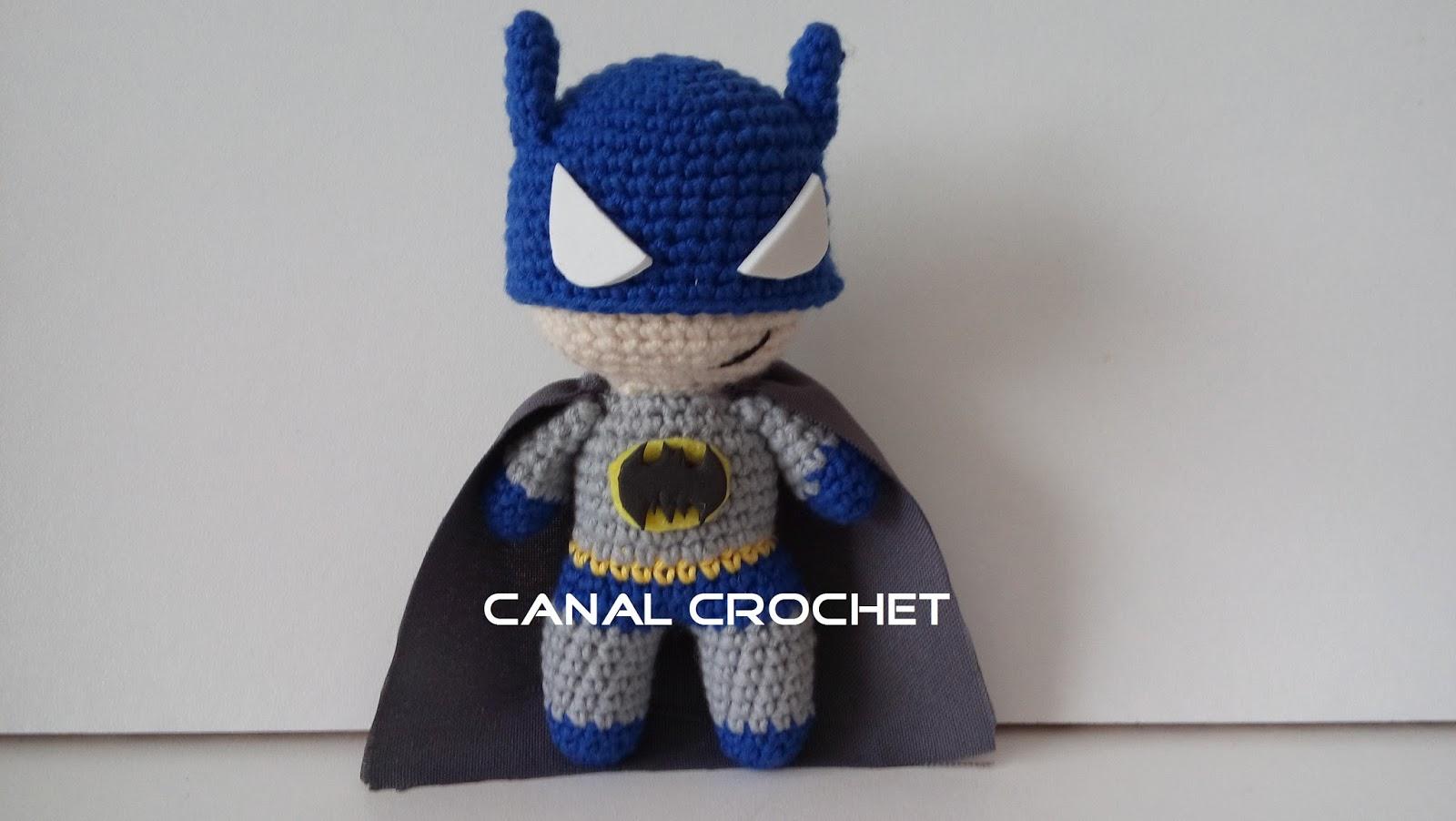 CANAL CROCHET: Super Heroes amigurumi patrón libre.