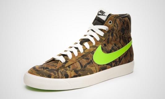 Nike Blazer Mid '77 PRM VNTG (camou / grün)