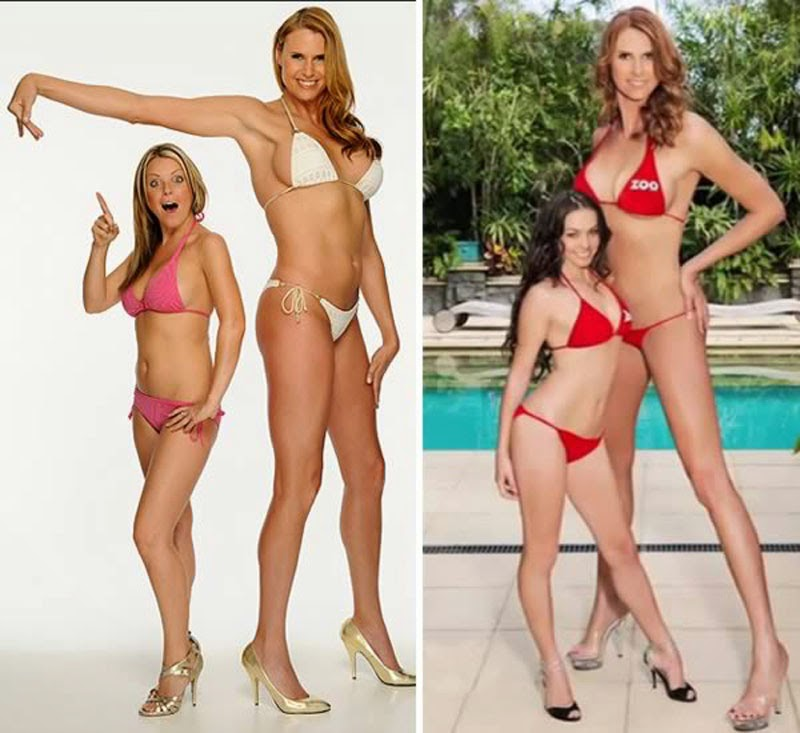 Tallest Model who stands at 6'8""