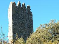 La paret nord de la Torre de Merola