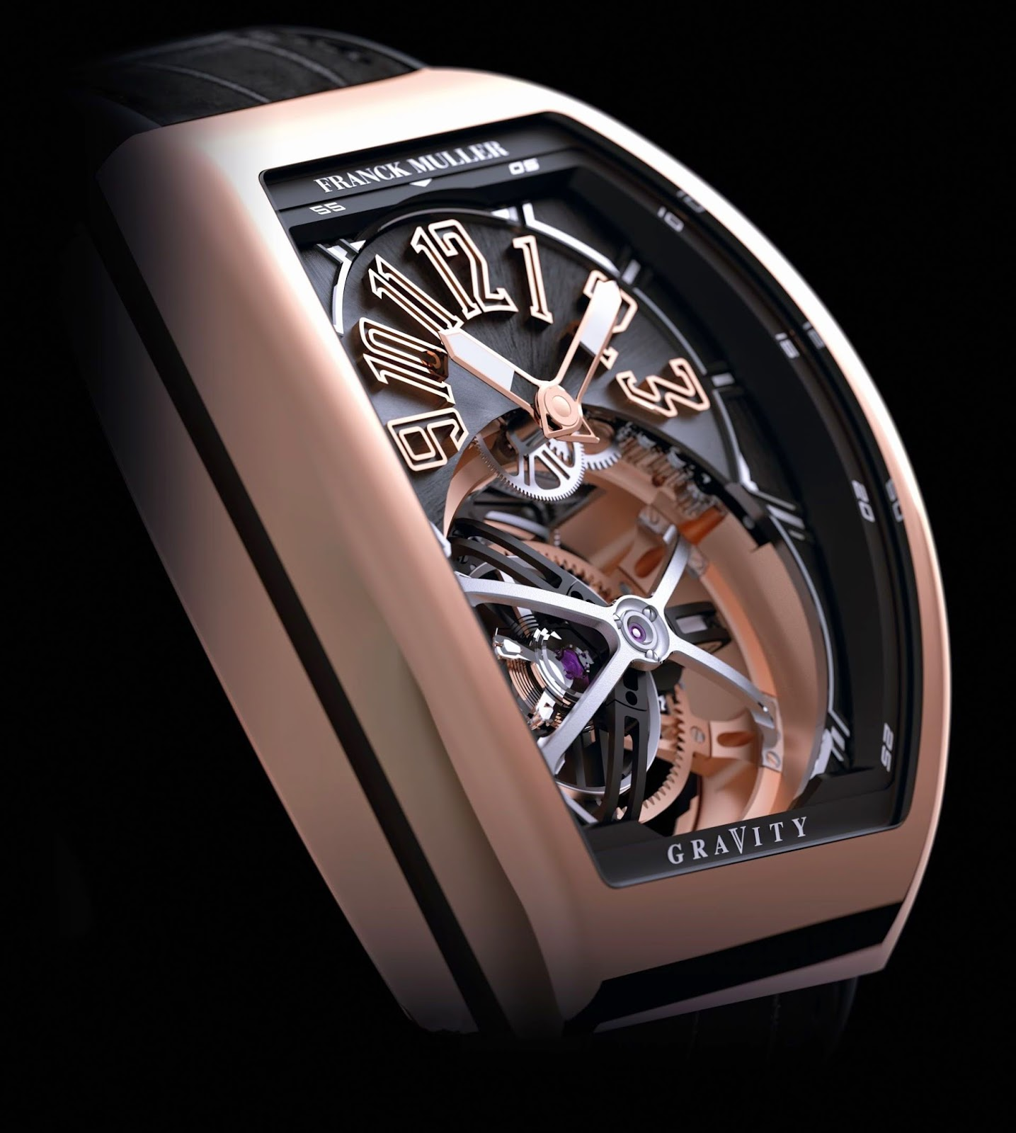 Franck Muller Vanguard Gravity tourbillon replica