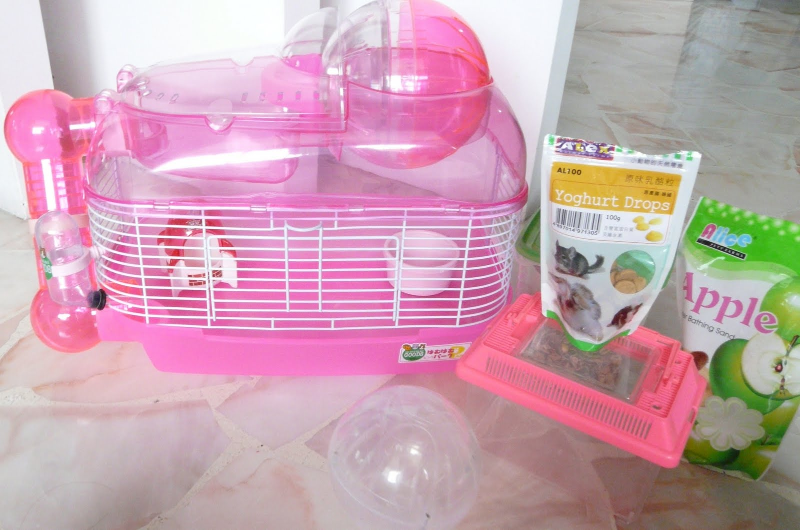 Big Hamsters Big Enough For 4 Hamsters or