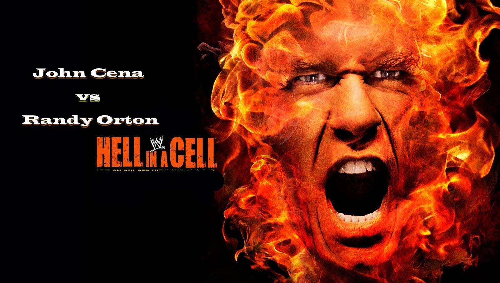 John Cena  Wallppers Vs Randy Orton Hell in a Cell Match HD