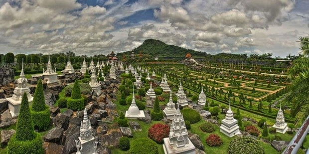 World's most beautiful gardens - Nong Nooch Tropical Botanical Garden, Thailand