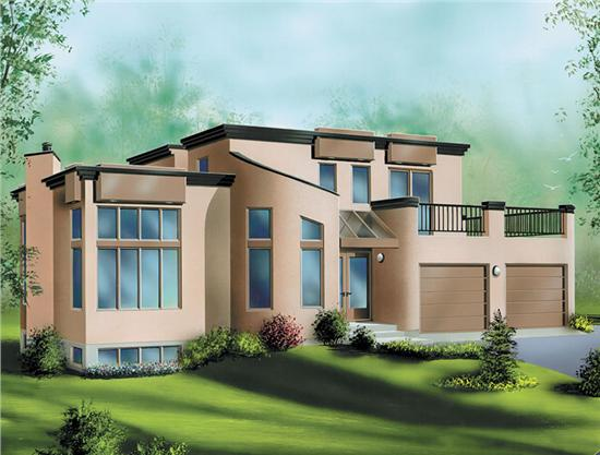 Impressive Modern House Plan 550 x 417 · 38 kB · jpeg