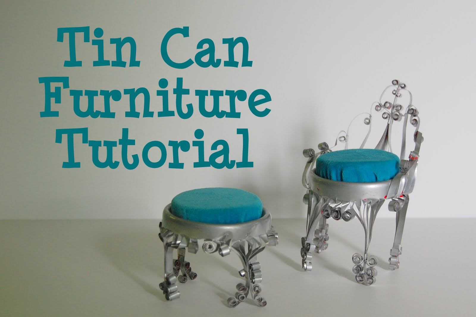 tin furniture. my first post showed attempt to recreate the furniture and itu0027s pretty popular i thought it wouldnu0027t be too tin n