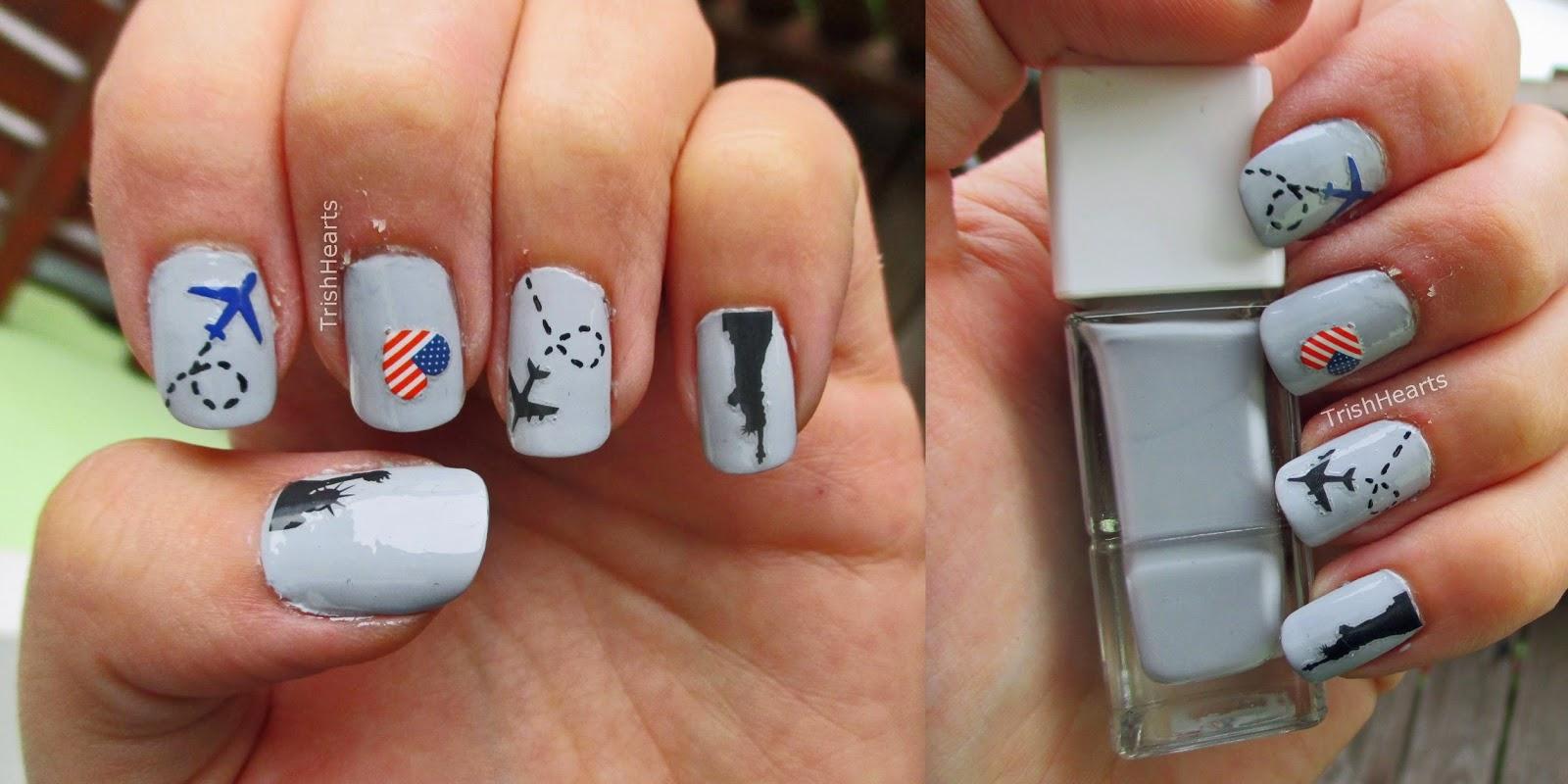 Trishhearts Manicure Monday American Style