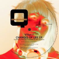 Vilius J Changes Of Life EP Quadraphonic Recordings