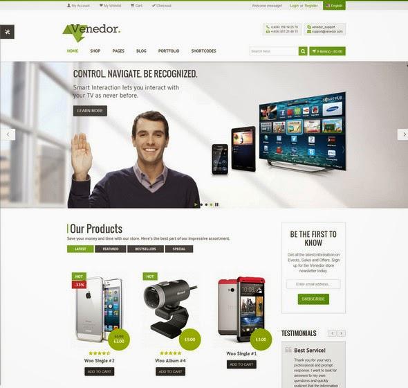 Woo-Commerce WordPress Themes 2014