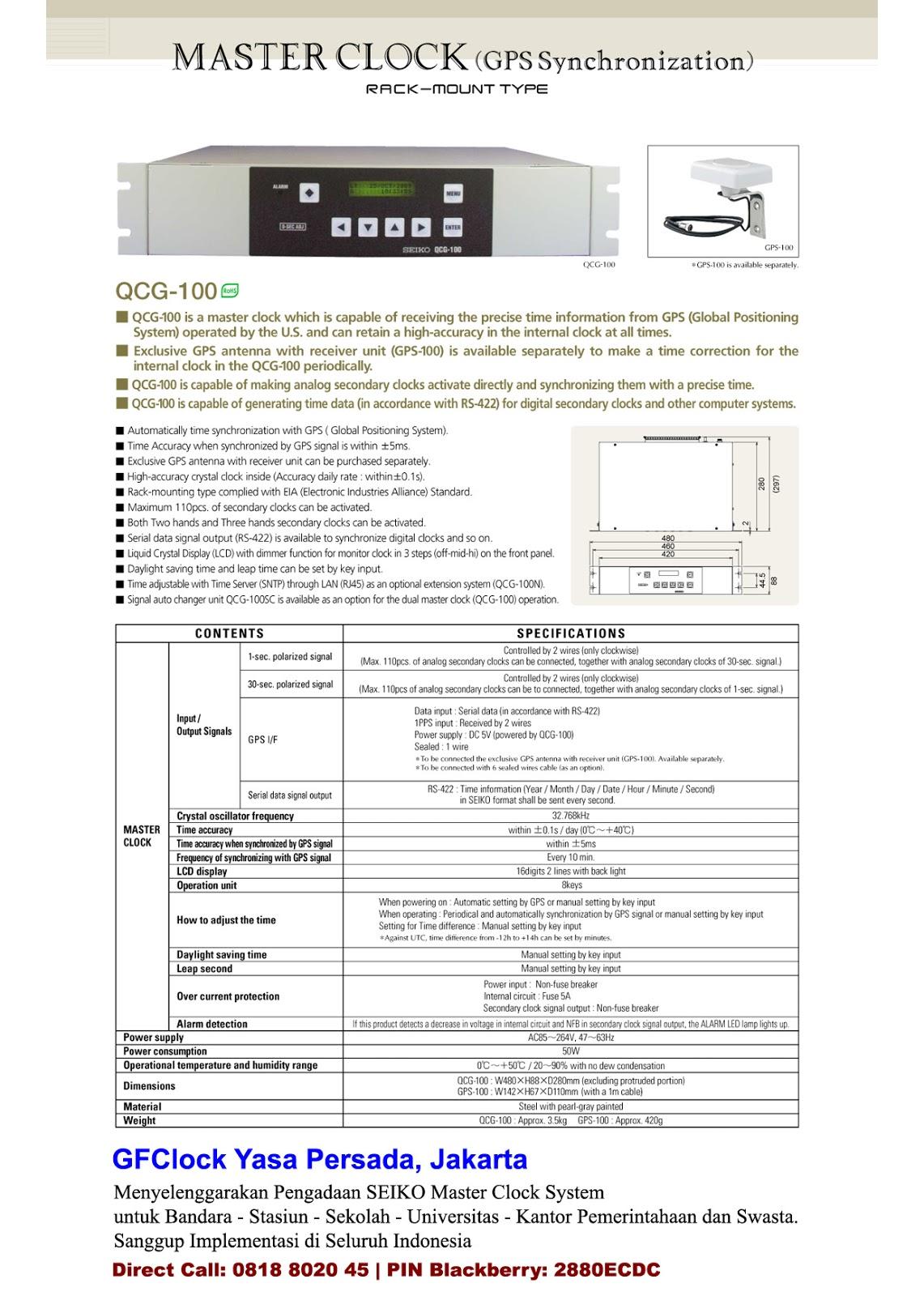 Clock Maker  U0026 Parts  Jual Seiko Master Clock System