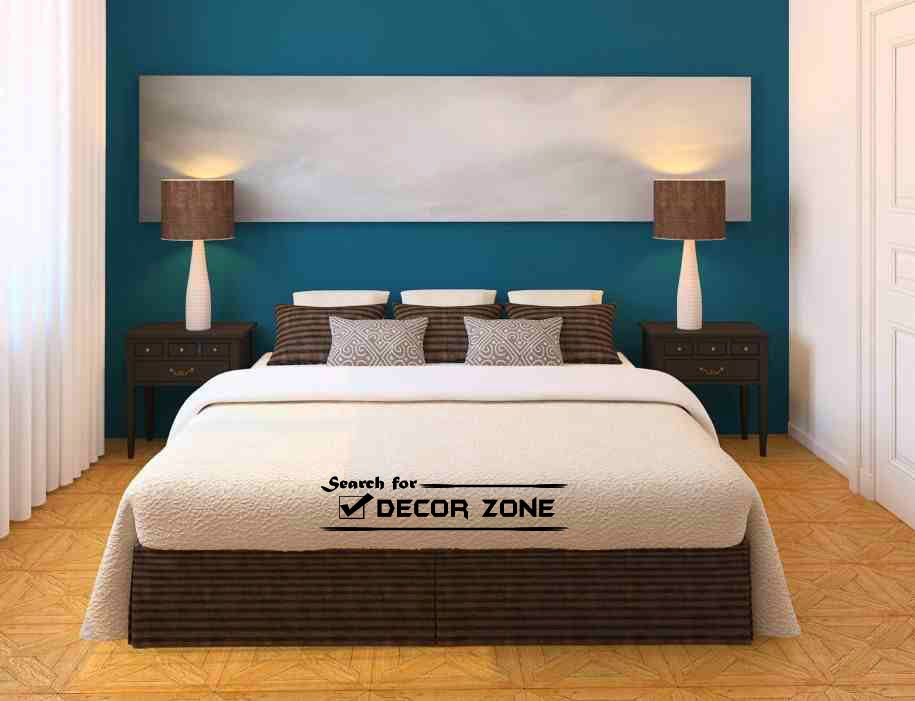 Small bedroom paint colors how to choose 10 ideas for Wall designs with paint for a bedroom