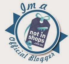 Official Blogger for Not in Shops