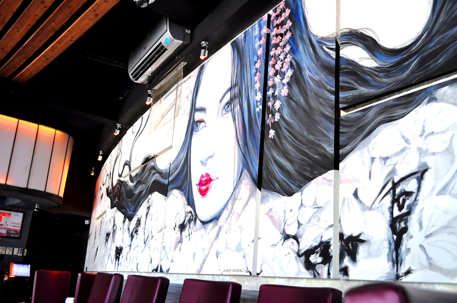Toro restaurant bar bonifacio global city for Bonifacio mural painting