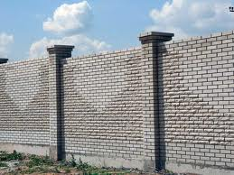 Кирпичный забор. Фото 20