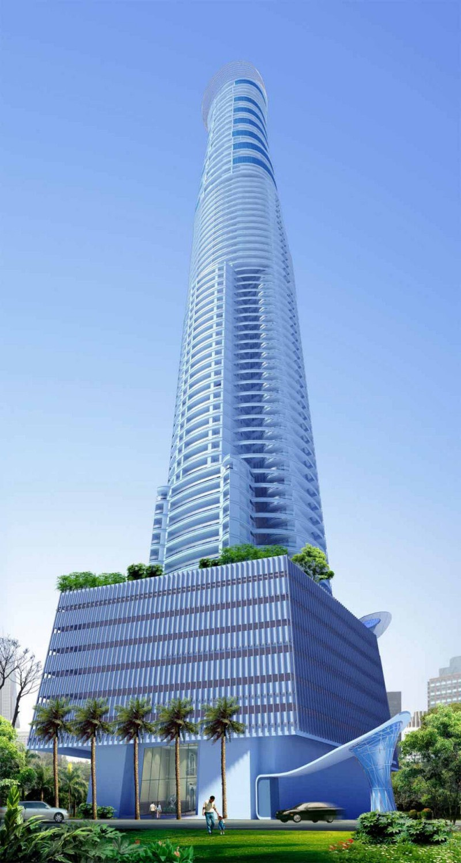 Shreepati skies design the tallest building in mumbai for Tower house design