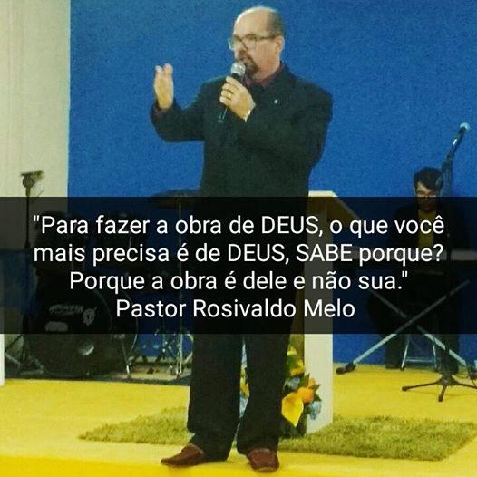 Frase do Pastor