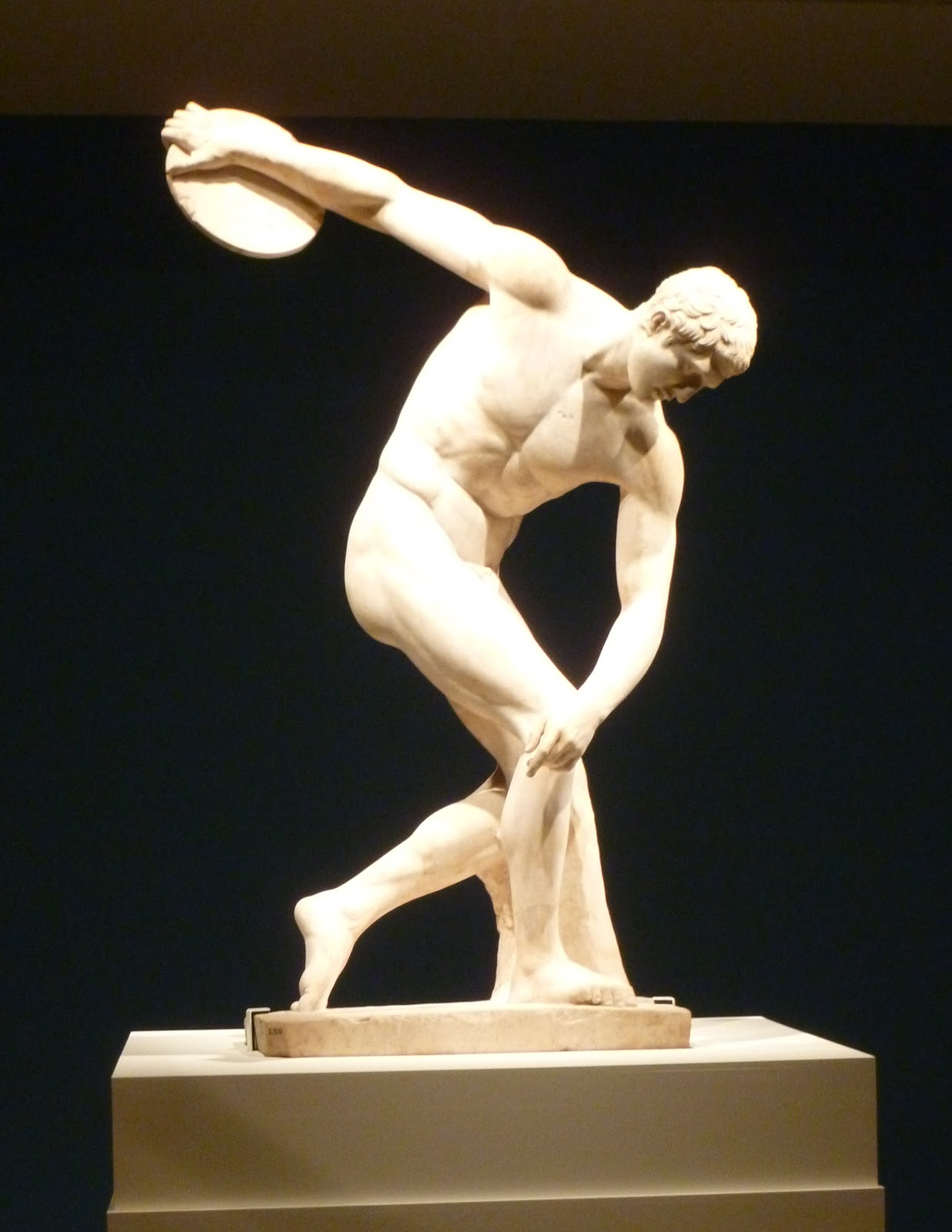 Townley Discobolus Original By Myron 450 440bc
