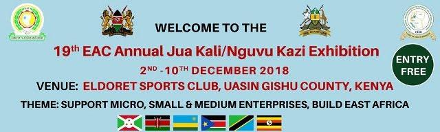 19TH EAC JUA KALI/NGUVU KAZI EXHIBITION BANNER