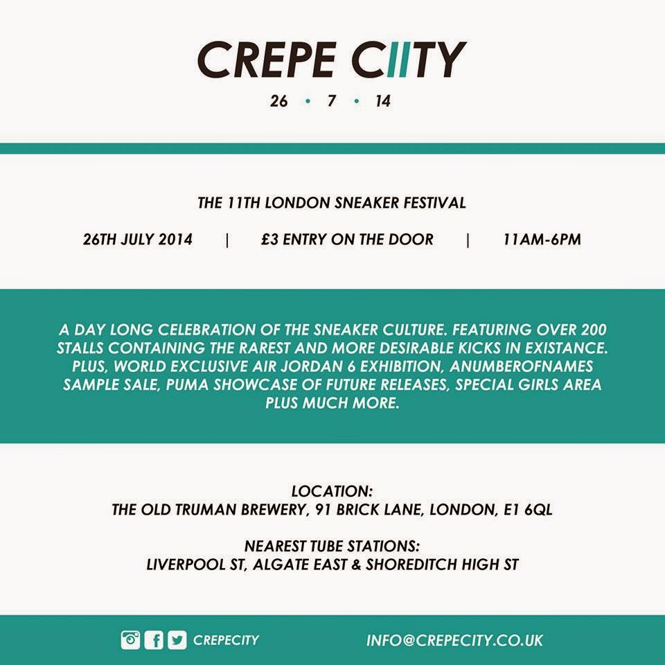 crepe city london 11 sneaker events, collectors, showusyoursneaks number 1 uk event