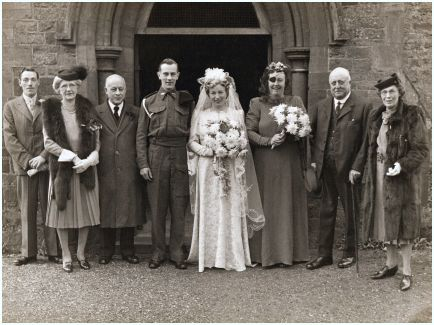 My Vintage America 1940 39 S Wedding Photos