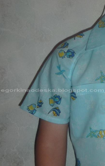 Платье с плечевой вытачкой