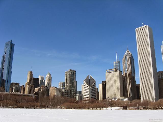 Chicago en invierno por Marcela Abrach