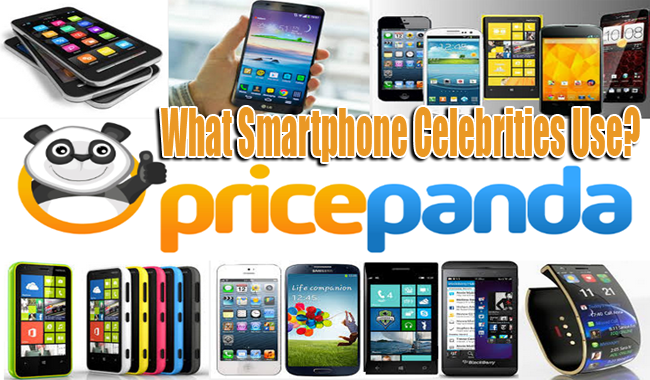 What Smartphone Celebrities Use According to PricePanda?