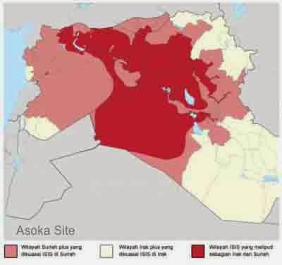 wilayah,kekuasaan,isis,terbaru,2014,irak,suriah,suriyah,peta,map,denah