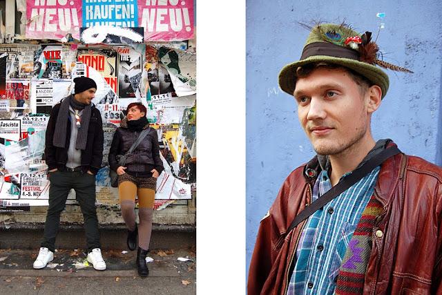 Streetstyle Berlin // Alessandro, Beatrice and Bjoern