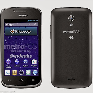 Huawei Vitria user guide manual for MetroPCS