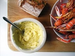 Langoustine with Homemade Mayonnaise